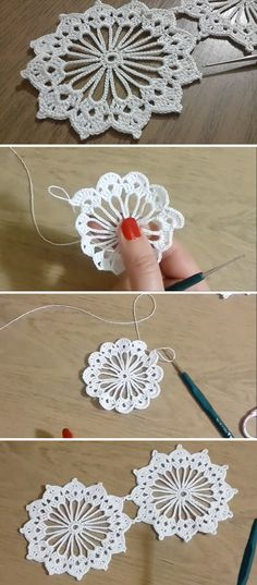 crochet hooks Use this lovely crochet lace pattern to make some of the most stunning table runners you have yet to crochet. This video tutorial will teach you how to make lace pattern in Motif Mandala Crochet, Shawl Crochet, Crochet Motifs, Crochet Flower Patterns, Thread Crochet, Easy Crochet, Crochet Flowers, Crochet Stitches, Knit Crochet