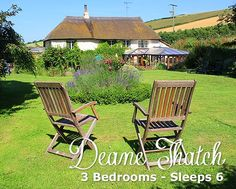 Deane Thatch Cottage, Stokeinteignhead. Call 01626 873724 to book it! or visit: http://www.romanticcottages.uk.com