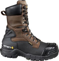 Carhartt Men's 10 in Pac Insulated Work Boots (Brown/Black, Size - Lace St Work Boots at Academy Sports Rugged Style, Insulated Work Boots, Men's Shoes, Shoe Boots, Dress Boots, Composite Toe Work Boots, Brown Boots, Hiking Boots, Men Accessories