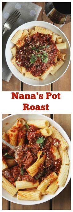 Nana's Pot Roast   Grandbaby Cakes