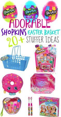 20+ Non-Candy Shopkins Easter Basket Stuffer Ideas