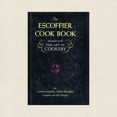 Escoffier Cookbook - Guide to Fine Art of Cookery 1969 - Cookbook Village vintage and used cookbooks store online.