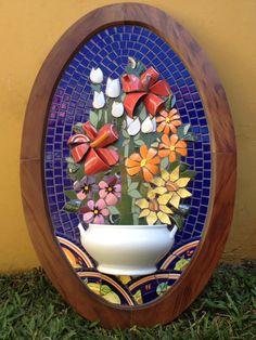 """Mosaic Picassiette   by Schandra """" Trabalhos em Mosaico"""""""