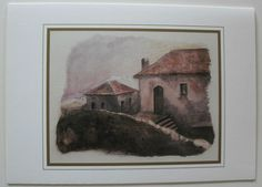 $2.99  Landscape Italian Fine ART Card Blank C'ERA UNA Scala NO 3 BY Liana Disegno | eBay #holiday #stationary #greetingcard