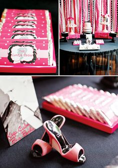 {Fashion Runway} Stylish PINK Barbie Party
