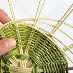 Ošatka na chleba - Moderní košíkářství Wicker Baskets, Weaving, Decor, Hampers, Decoration, Dekoration, Inredning, Crocheting, Knitting Looms