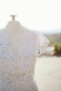 Grace Designs: Paper Wedding Dress: Kathryn Godwin