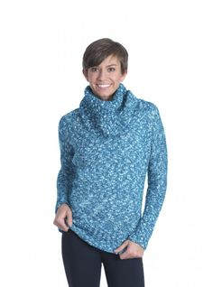 Front view of the Rhonda Sweater