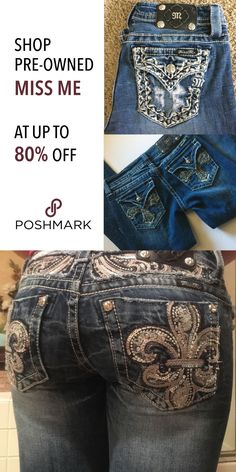 Shop or Sell Pre-Owned Miss Me Jeans at Poshmark! Find deals up to 80% off all from your phone! Install the free app now! Shipping is also fast and easy.