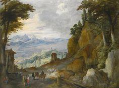 Joos de Momper - Landscape.