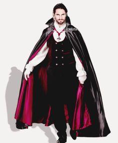 Seth makes a great vampire!