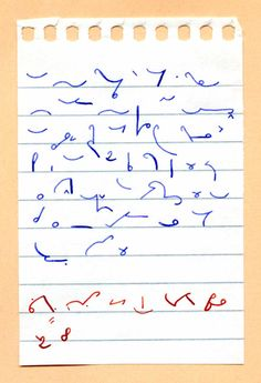 dying art....shorthand