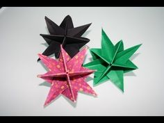 Explore amazing art and photography and share your own visual inspiration! 3d Origami, Origami Stars, Origami Flowers, Diy Flowers, Fuchsia Flower, 6th Grade Art, Paper Stars, Flower Frame, Flower Crafts