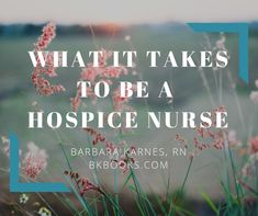 """As a professional caregiver I see a lot of the """"hands-on"""" side of our industry. What kinds of duties does the hospice nurse do? What are some of the challenges in the hospice industry Nursing School Graduation, Nursing School Tips, Nursing Tips, Ob Nursing, Nursing Schools, Nursing Quotes, Cna Nurse, Hospice Nurse, Nurse Life"""