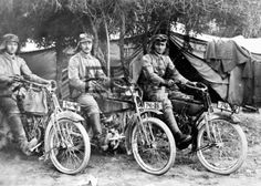 motorcycles of the First World War