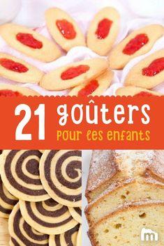 Goûters pour les enfants faciles à réaliser ! // #gouter #kids #enfant #recette #cuisine #marmiton