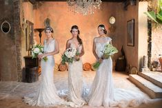 Elegant and sexy wedding dresses   LH Photography   see more on: http://burnettsboards.com/2014/07/timeless-elegance-san-juan-puerto-rico/