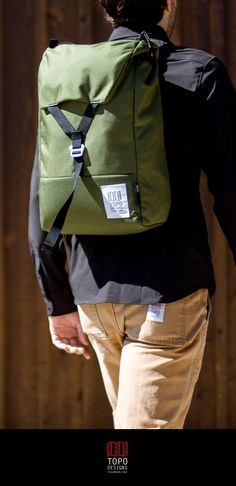 Stylish backpacks that easily transition from school to work. Shop gifts for the graduate at Topo Designs.