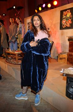 M.I.A. celebrates Stella McCartney.