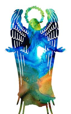 "I sold a 5.00"" x 8.00"" print on FineArtAmerica.com! #angels Sharon Cummings art"