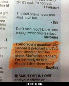 Tomorrow's Question#funny #lol #lolzonline