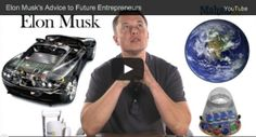 Some Words Of Wisdom From Elon Musk