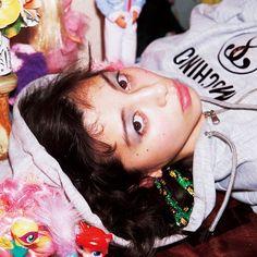 女優 #中条あやみ と #NYLON が00sファッションを17sのトレンドとミックスし発信ピンクとキラキラが溢れたジューシーでキュートなブームが #2k17 年春再来する May issue P12 JUICY VIBES model #ayaminakajo hoodie @moschino earrings #vintage @pinnap_tokyo dolls @spiral_toy #nylonjapan #nylonjp #fashion #fahsionstory #juicyvibes #spiral #toy #2k17 #00s #Y2K #2000s #caelumjp  via NYLON JAPAN MAGAZINE OFFICIAL INSTAGRAM - Celebrity  Fashion  Haute Couture  Advertising  Culture  Beauty  Editorial Photography  Magazine Covers  Supermodels  Runway Models