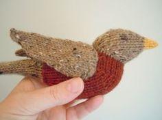 Spring Robin Free Pattern - Free Knitting Patterns by Sara Elizabeth Kellner