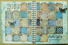 January 2013  - Maja Designs January Inspiration Mood Board - Scrapbook.com