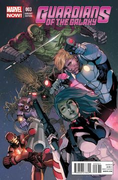 """The relaunched Guardians of the Galaxy """"Marvel NOW!"""" series continues as Iron Man finds himself a prisoner of the Spartax Empire. Hit the jump for a first look at issue from Brian Michael Bendis (All-New X-Men) and Steve McNiven (Captain America). Marvel Comics Art, Marvel Comic Books, Comic Book Heroes, Marvel Heroes, Comic Books Art, Captain Marvel, Comic Art, Cosmic Comics, Marvel Movies"""