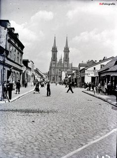 Lutomierska (lata XX w. Poland Cities, Roots, Polish, Travel, History, Art, Trips, Varnishes, Traveling