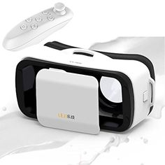 Mini 3D VR GlassesHeadset Tsanglight Virtual Reality Headset  Remote Controller for IOS iPhone 766S Plus Android Samsung Galaxy S7 Edge S76 J7A5A3 2016  Other 4555 Cellphone  White *** Read more reviews of the product by visiting the link on the image.Note:It is affiliate link to Amazon.