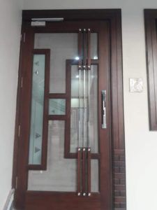 DOOR DESIGN - HOME MADE INTERIOR Flush Door Design, Door Gate Design, Bedroom Door Design, Door Design Interior, Interior Modern, Wooden Front Door Design, Double Door Design, Single Main Door Designs, Door Design Images