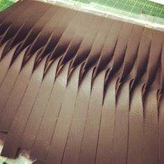 Senior Thesis Process - Leather Manipulation Technique Development // gretchen m. kreutz