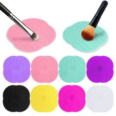 1 PC 8 Colors Silicone Cleaning Cosmetic Make Up Washing Brush Gel Cleaner Scrubber Tool Foundation Makeup Cleaning Mat Pad Tool -  http://mixre.com/1-pc-8-colors-silicone-cleaning-cosmetic-make-up-washing-brush-gel-cleaner-scrubber-tool-foundation-makeup-cleaning-mat-pad-tool/  #MakeupBrushesTools