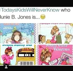 Lol I used to read Junie B Jones ALL the time!) Junie B Jones was literally the best book series ever! Right In The Childhood, My Childhood Memories, Funny Relatable Memes, Funny Jokes, Hilarious, Junie B Jones, 90s Kids, Kids Toys, The Good Old Days