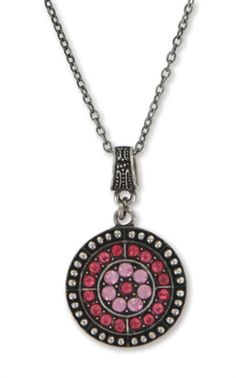 Jeweled Rose Pendant Necklace | Necklaces on LDSBookstore.com (#CF-P67008)