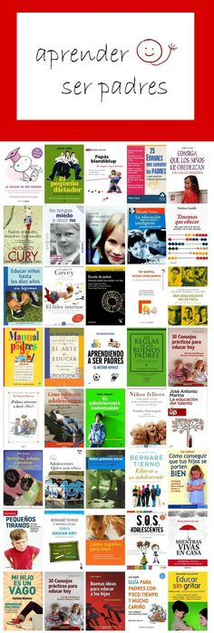 APRENDER A SER PADRES. Selección de libros. febrero 2014