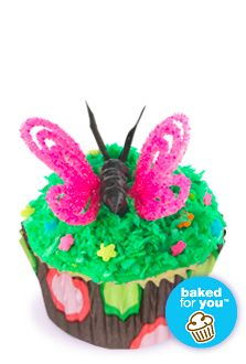 Butterfly Cupcakes    Feminine Recipes | Reynolds Baking Cups