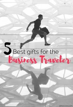 Best Gifts for the Business Traveler. For the business traveler, it all comes down to a matter of efficiency and ways to make his or her trip seamless and stress-free. Here are 5 gift ideas for a business traveler:
