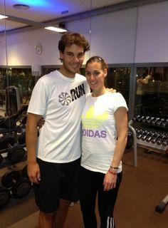 Rafael Nadal si Flavia Pennetta