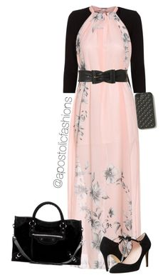 """Apostolic Fashions #830"" by apostolicfashions on Polyvore featuring Precis Petite, Kate Spade, Jane Norman, The Case Factory and Balenciaga"
