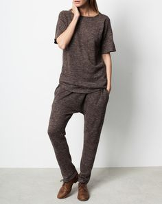 HUGE SALE! UP TO 80% off!!! Lauren Manoogian Skinny Arch Pants in Brown Flax