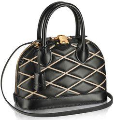Louis Vuitton Alma BB Canvas Bag from the Spring Summer 2014 Collection