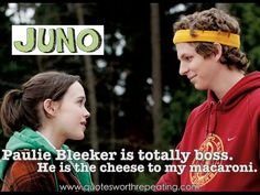 Ellen Page and Michael Cera star in Juno. Below, the young stars talk about the film with Movie Web: How quickly upon reading the script. Ellen Page, Top Romantic Movies, Romantic Movie Quotes, Charlie Chaplin, Michael Cera, Nicholas Hoult, Teen Movies, Falling In Love Again, Movie Couples