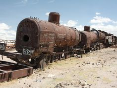The Beautiful Junkyard Where Bolivia's Trains Were Left to Rot | Autopia | WIRED