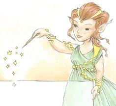 Petite fée verte, fichier personnalisé, faire-part félicitations invitation carte