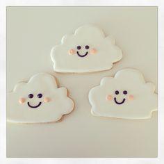 happy cloud cookies