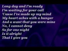 The Corrs - One Night (with lyrics)