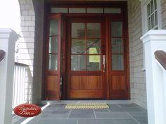venting sidelights Entry Doors, Garage Doors, Front Doors, Custom Wood Doors, Wall Trim, Door Wall, Metal Roof, Home Remodeling, Beach House